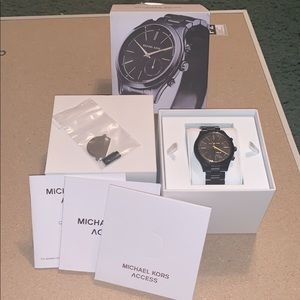 Michael Kors Access Black Smartwatch